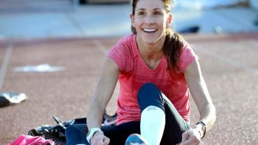 Kara Goucher: Find Something Positive