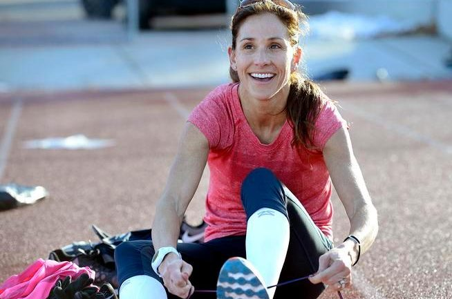 Kara Goucher: Find Something Positive