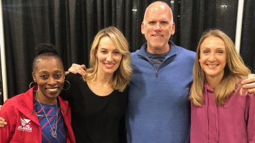 Live with Paula Radcliffe, John Godina, and Gail Devers